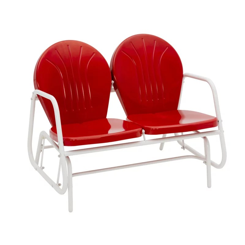 jack post jack post 2 red steel glider chair from walmart accuweather
