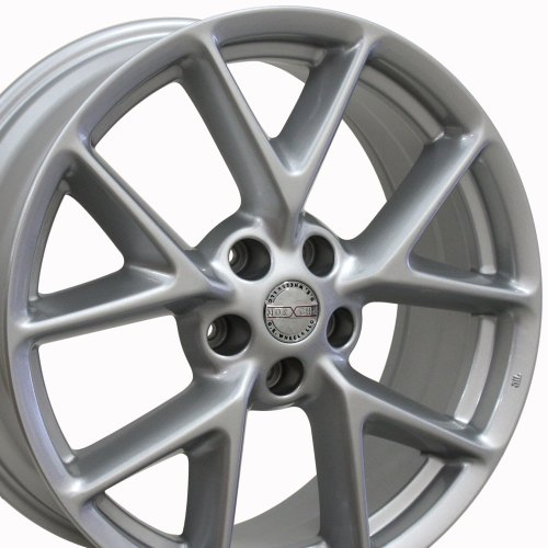 small resolution of 19x8 wheel fits nissan infiniti nissan maxima style silver rim hollander 62512 walmart com