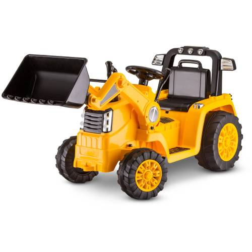 small resolution of kid trax 6v caterpillar tractor battery powered ride on yellow walmart com