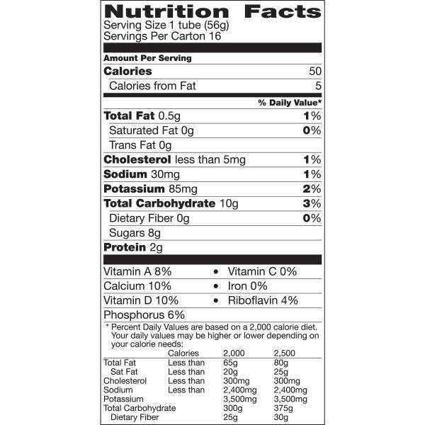 Gogurt Nutrition Label Besto Blog