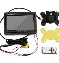 7 tft lcd monitor backup camera wiring diagram electrical tft color monitor wiring diagram wiring diagram [ 1001 x 1001 Pixel ]