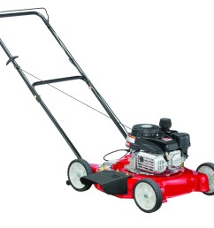 yard machines 20 gas push lawn mower with side discharge [ 4060 x 3592 Pixel ]