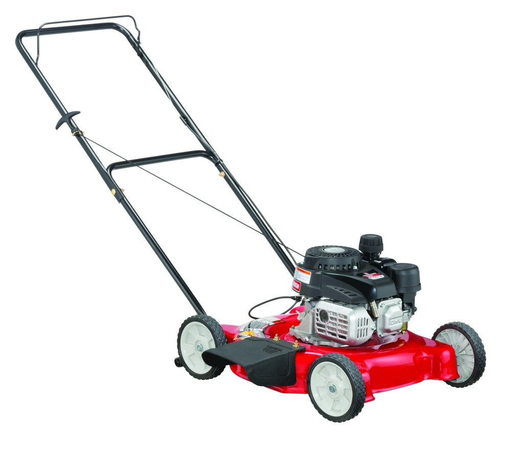 medium resolution of yard machines 20 gas push lawn mower with side discharge