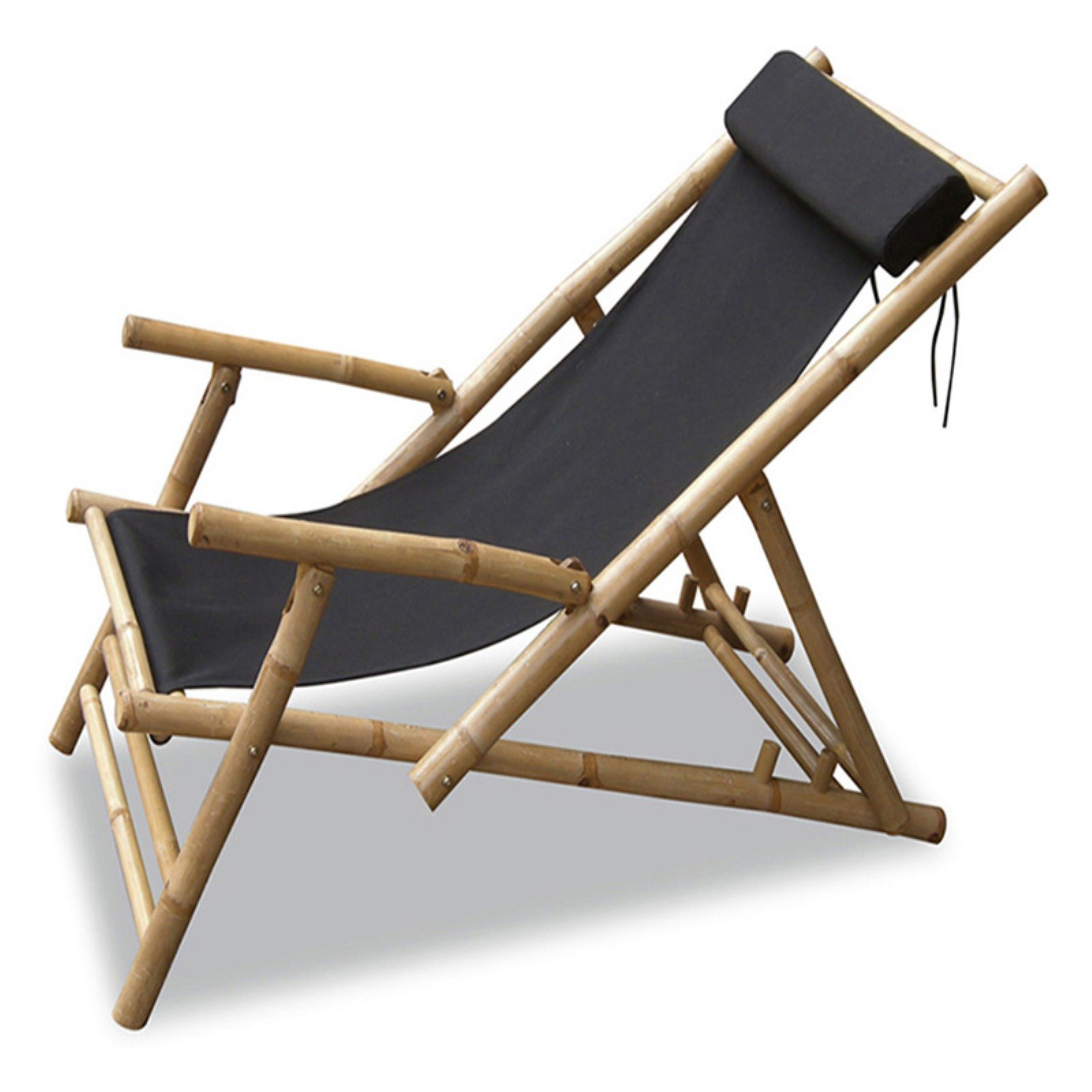 Folding Wood Beach Chair Heather Ann Creations Kahuli Bamboo Sling Folding Beach Chair Set Of 2