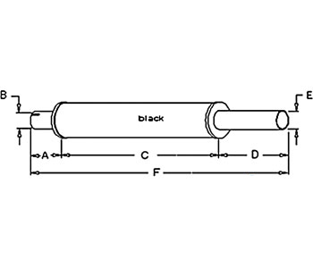 70253660 Muffler Fits Allis Chalmers Tractor 200 210 220