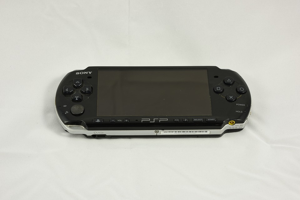 Laminated Poster Video Game Console Psp Playstation