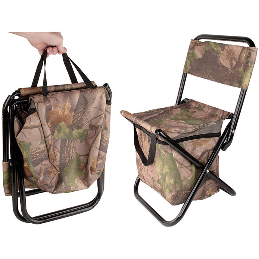 camping chairs at walmart beach with umbrellas outdoor folding chair cooler bag - walmart.com