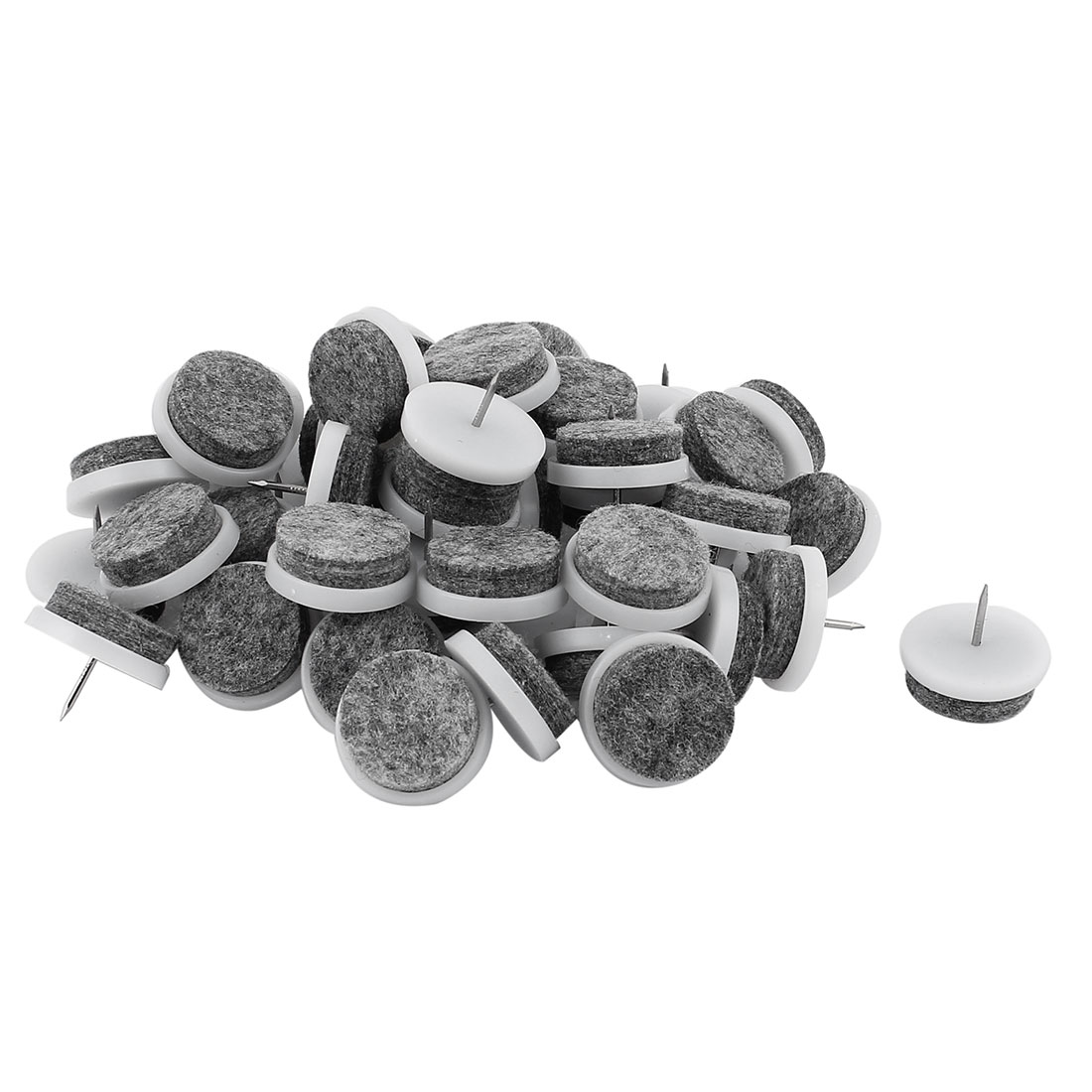 pads for chair legs gaming recliner target table leg glides furniture nail protector feet 50pcs departments
