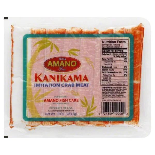 Hilos Amano Kanikama Imitation Crab Sticks
