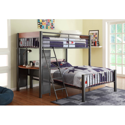 harriet bee twyla twin over full l shaped bunk bed
