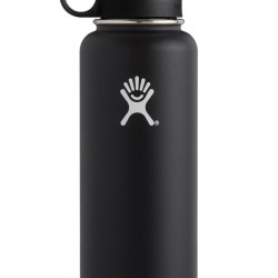 17df19dc7c Hydro Flask Wide Mouth Straw Lid 40 Oz Black Walmartcom