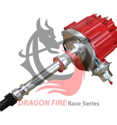 brand new pro billet dragonfire hei sbc bbc 283 305 350 396 400 427 454 chevy v8 ignition distributor complete chevrolet gm small block big block 65k dc8 df [ 1600 x 1600 Pixel ]