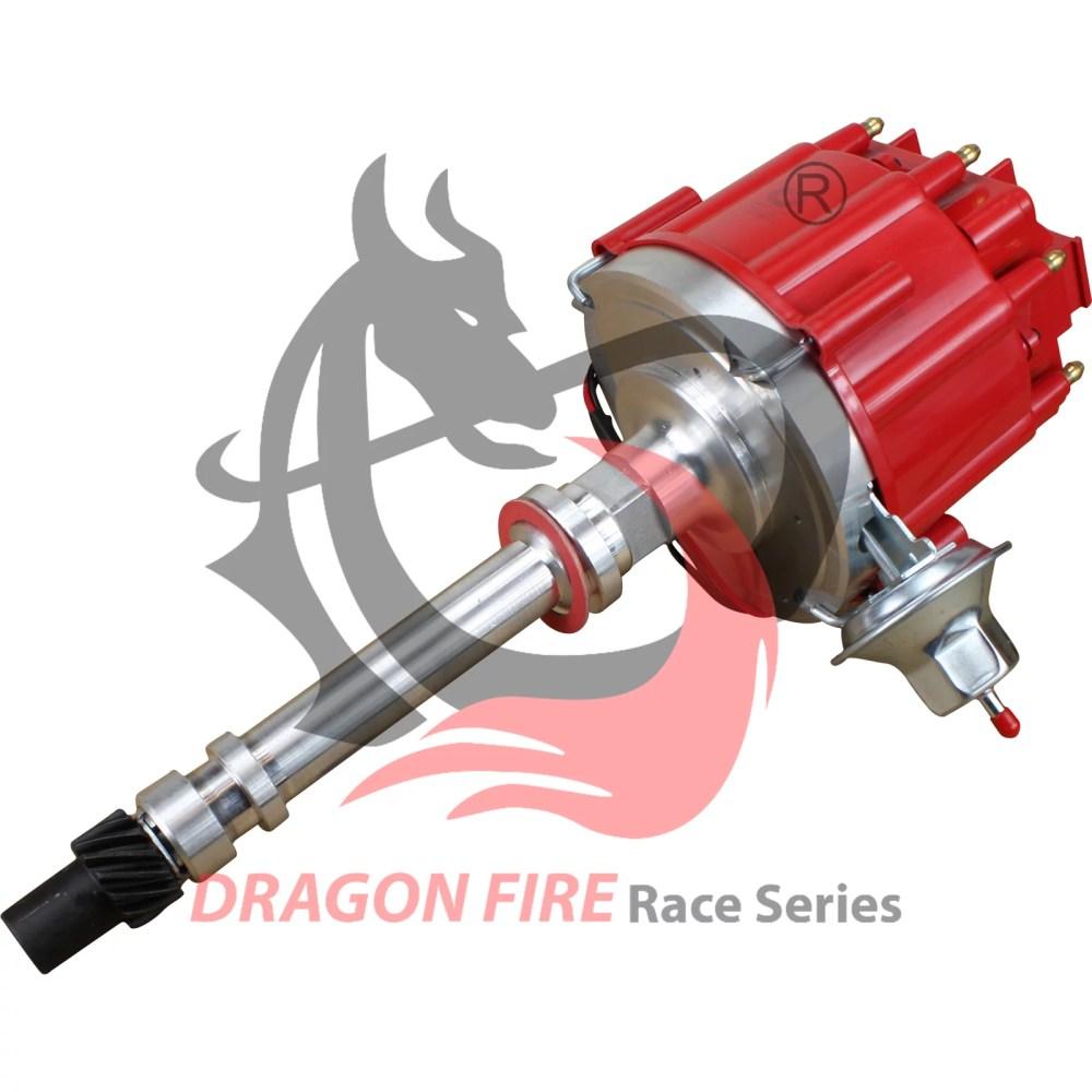 medium resolution of brand new pro billet dragonfire hei sbc bbc 283 305 350 396 400 427 454 chevy v8 ignition distributor complete chevrolet gm small block big block 65k dc8 df