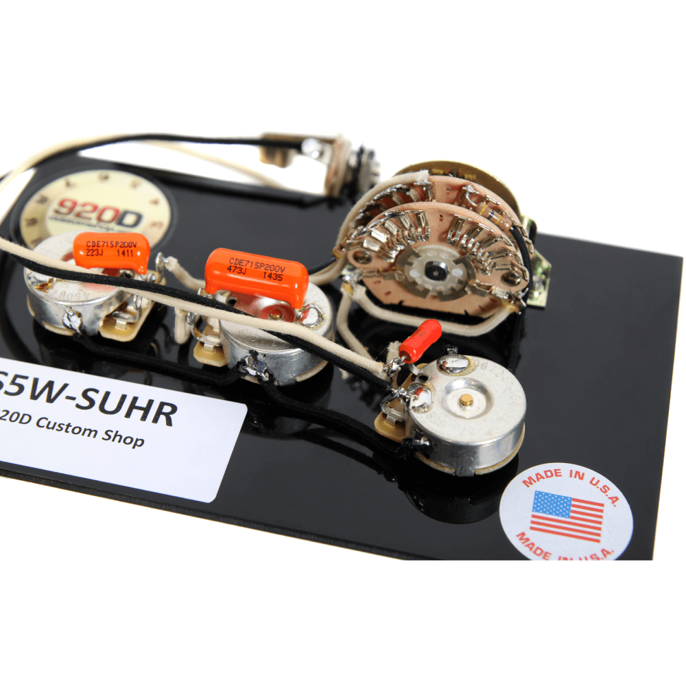 medium resolution of 920d custom shop suhr hss wiring harness w 5 way super switch