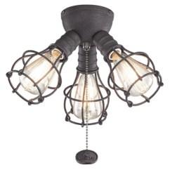 Ceiling Fan Light Kits Wiring Diagram Walmart Com Product Image Kichler 370041 3 Industrial Kit