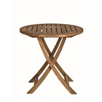 Three Birds Casual Cambridge Round Patio Bistro Table in ...