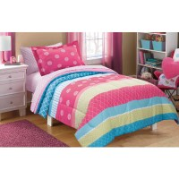 Mainstays Kids Mix It Up Bed in a Bag Bedding Set ...