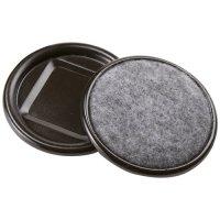 """Soft Touch 2-1/2"""" Carpet Base Caster Cups - Walmart.com"""