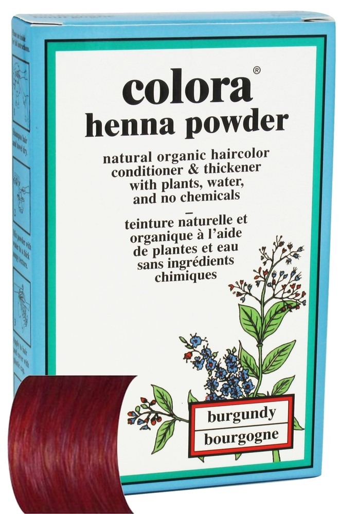 colora - henna powder natural organic