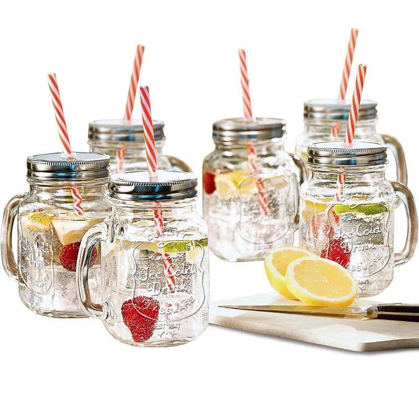 estilo mason jar mugs