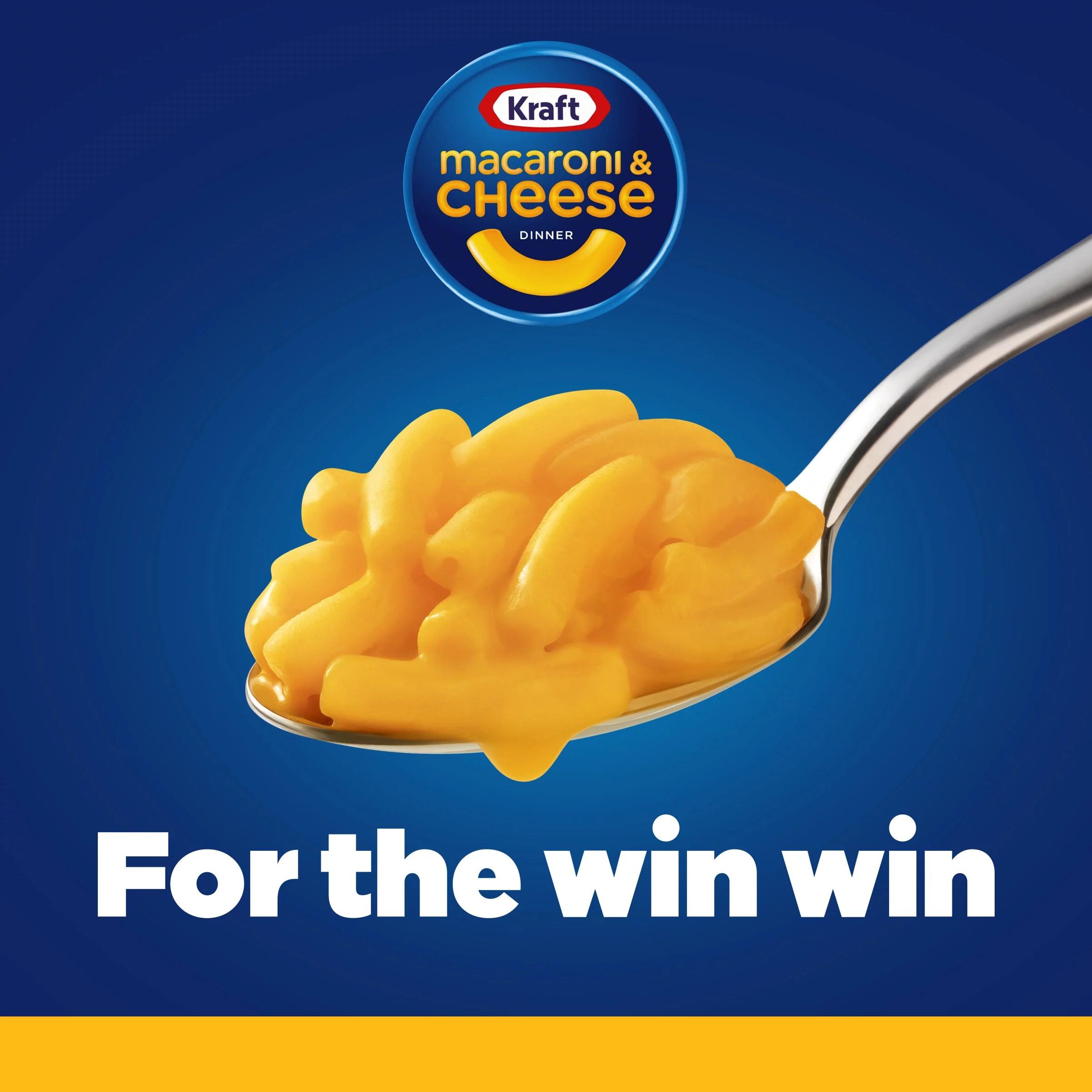 kraft original macaroni cheese easy microwavable dinner 4 ct pack 2 05 oz cups