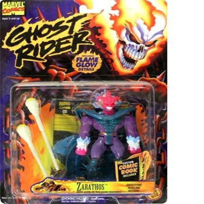 Marvel Comics Ghost Rider Zarathos Action Figure Toy