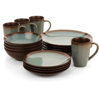 Hometrends Lagoon 16-Piece Dinnerware Set - Walmart.com