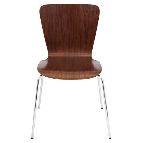bentwood dining chair wwe steel real orren ellis vicente set of 4 walmart com