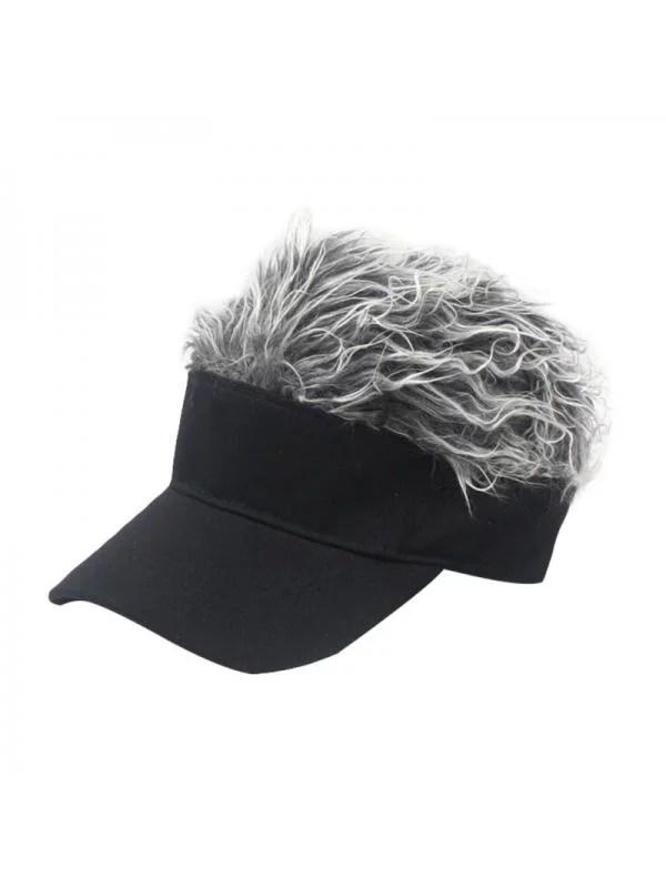 Spiky Hair Visor : spiky, visor, MarinaVida, Women, Flair, Visor, Peaked, Adjustable, Baseball, Walmart.com