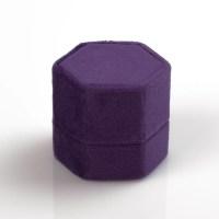 Koyal Wholesale - Koyal Wholesale Velvet Ring Box, Deep ...