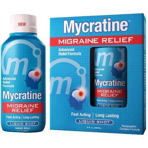 Mycratine Migraine Relief Liquid Shot 2 fl oz - Walmart.com