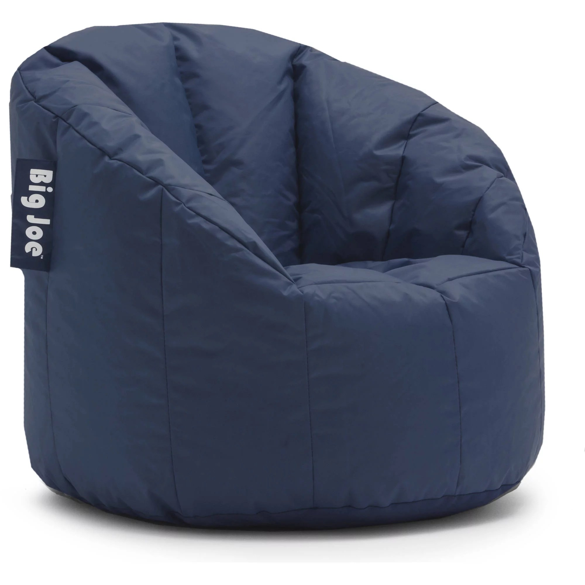 Bean Bags Chair Details About Big Joe Milano Large Bean Bag Bucket Chair Navy Gaming Living Room Furniture