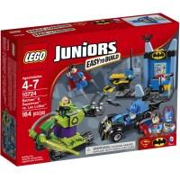 LEGO Juniors Batman & Superman vs. Lex Luthor Building Set ...