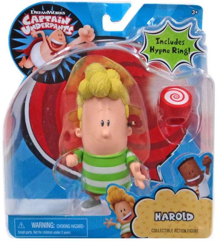 Captain Underpants Harold Action Figure Walmart