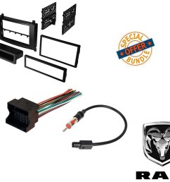 dodge sprinter van radio stereo dash mounting install kit wire harness adapter walmart com [ 1500 x 1281 Pixel ]