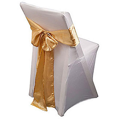 rose gold satin chair sashes rustic outdoor chairs sash li 10 pack walmart com