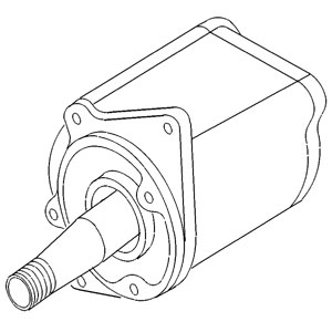 K918993 New David Brown Tractor Power Steering Pump 1200