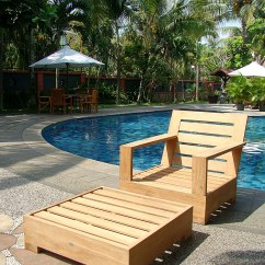 Teak Lounge Chair Folding Cushion Wholesaleteak Outdoor Patio Grade A Wood 2 Piece Set With Ottoman Furniture Only Leveb Collection Wmsslv5