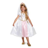 Tangled Girls' Rapunzel Wedding Dress Classic Costume ...