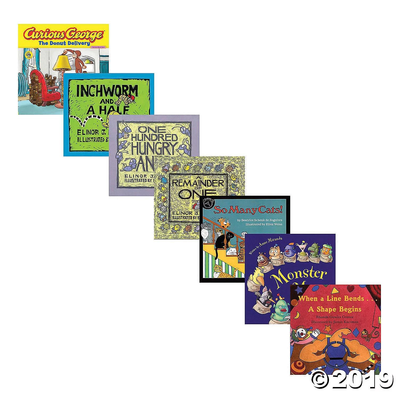 Houghton Mifflin Harcourt Math Literature Kit Set Of 7