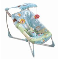 Fisher-Price Fold & Go Bouncy Seat - Walmart.com