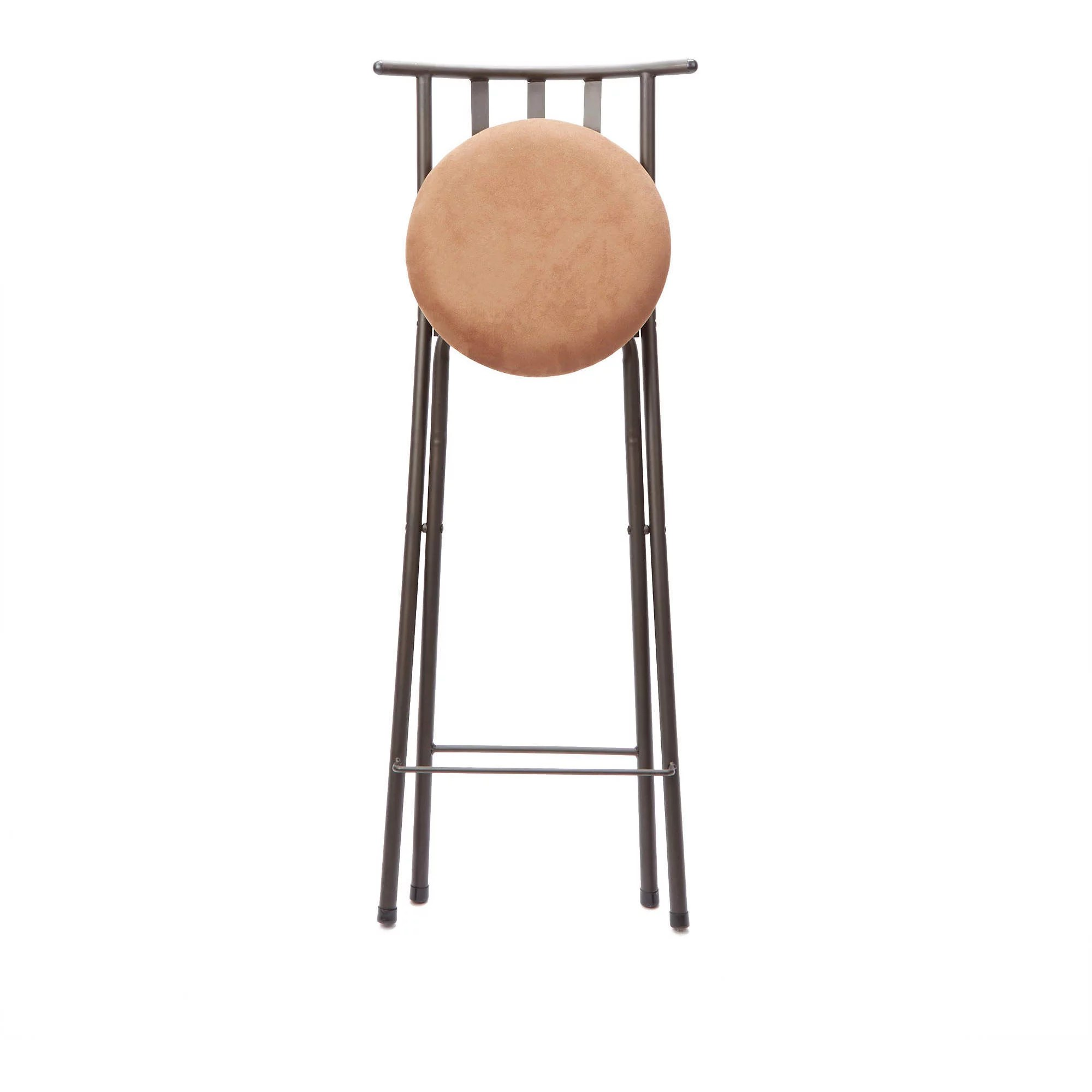 folding bar stool chairs swivel chair base kit new adjustable bronze furniture x