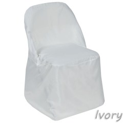 Party Chair Covers Walmart Browning Directors Balsacircle Folding Round Polyester Slipcovers For Wedding Reception Decorations Com