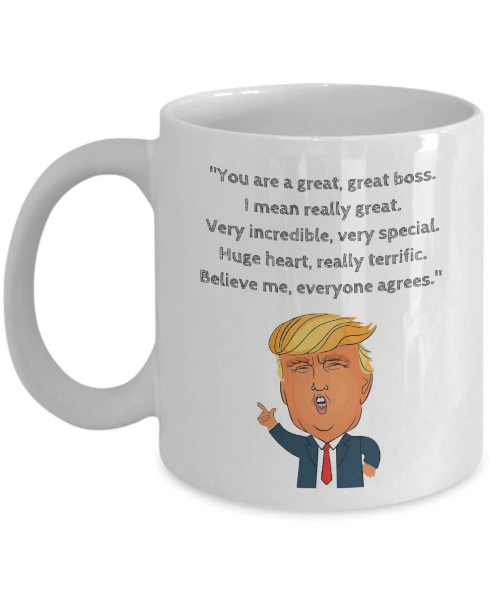 President Donald Trump Novelty Prank Gag Coffee And Tea