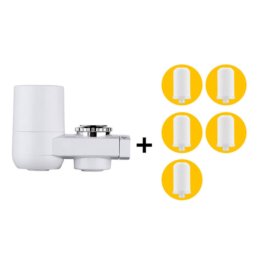 tap water purifier household kitchen filter washable filter bathroom shower head water faucet filter