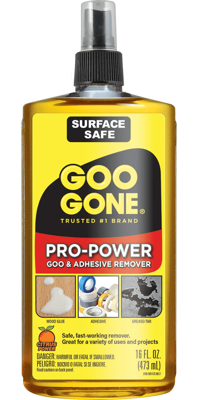 Goo Gone On Wood Cabinets