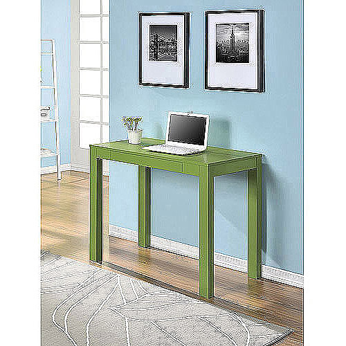 Mainstays Parsons Desk With Drawer Lime  Walmartcom
