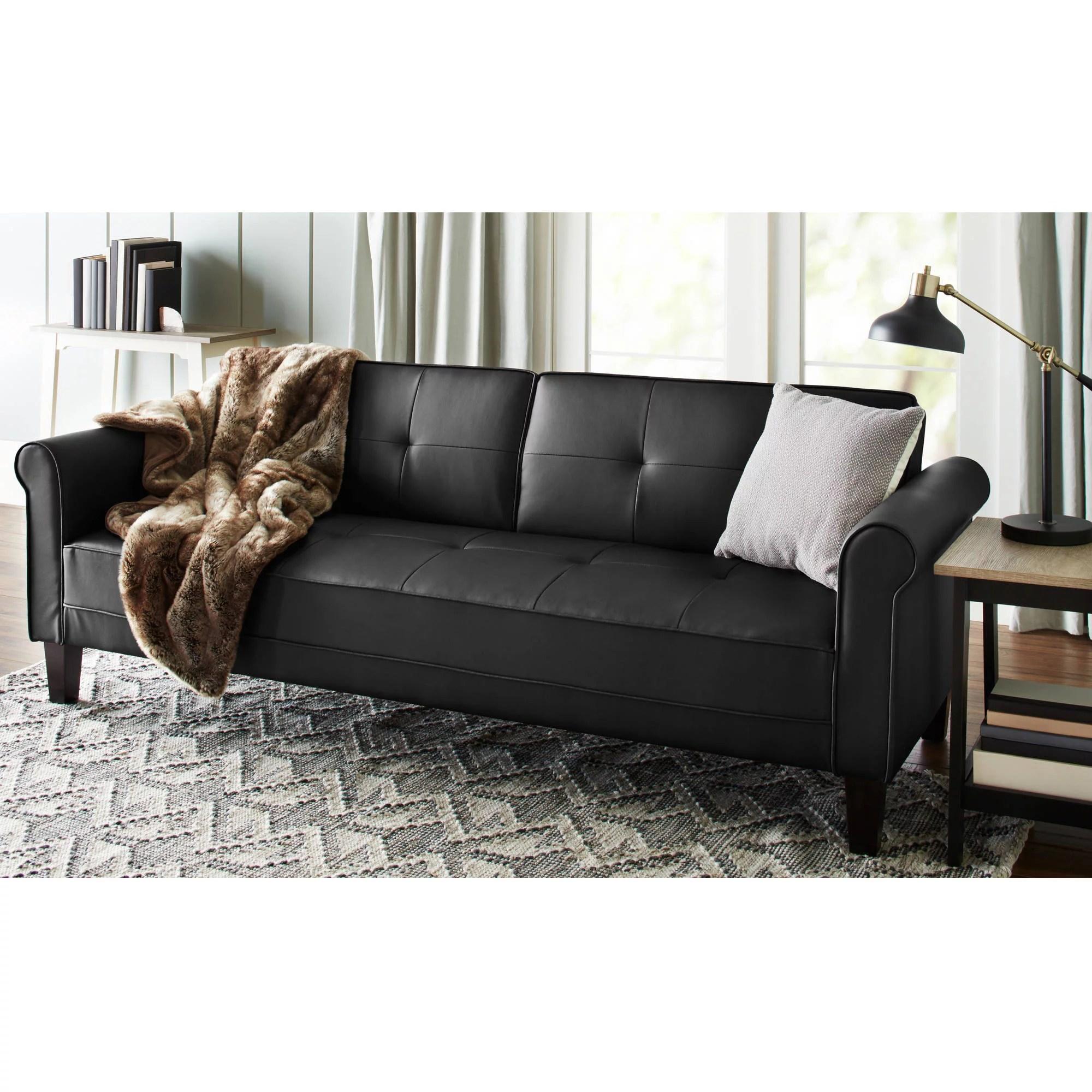 mission brown leather sofa sofas bege com almofadas coloridas baxton studio charlotte modern classic style wood