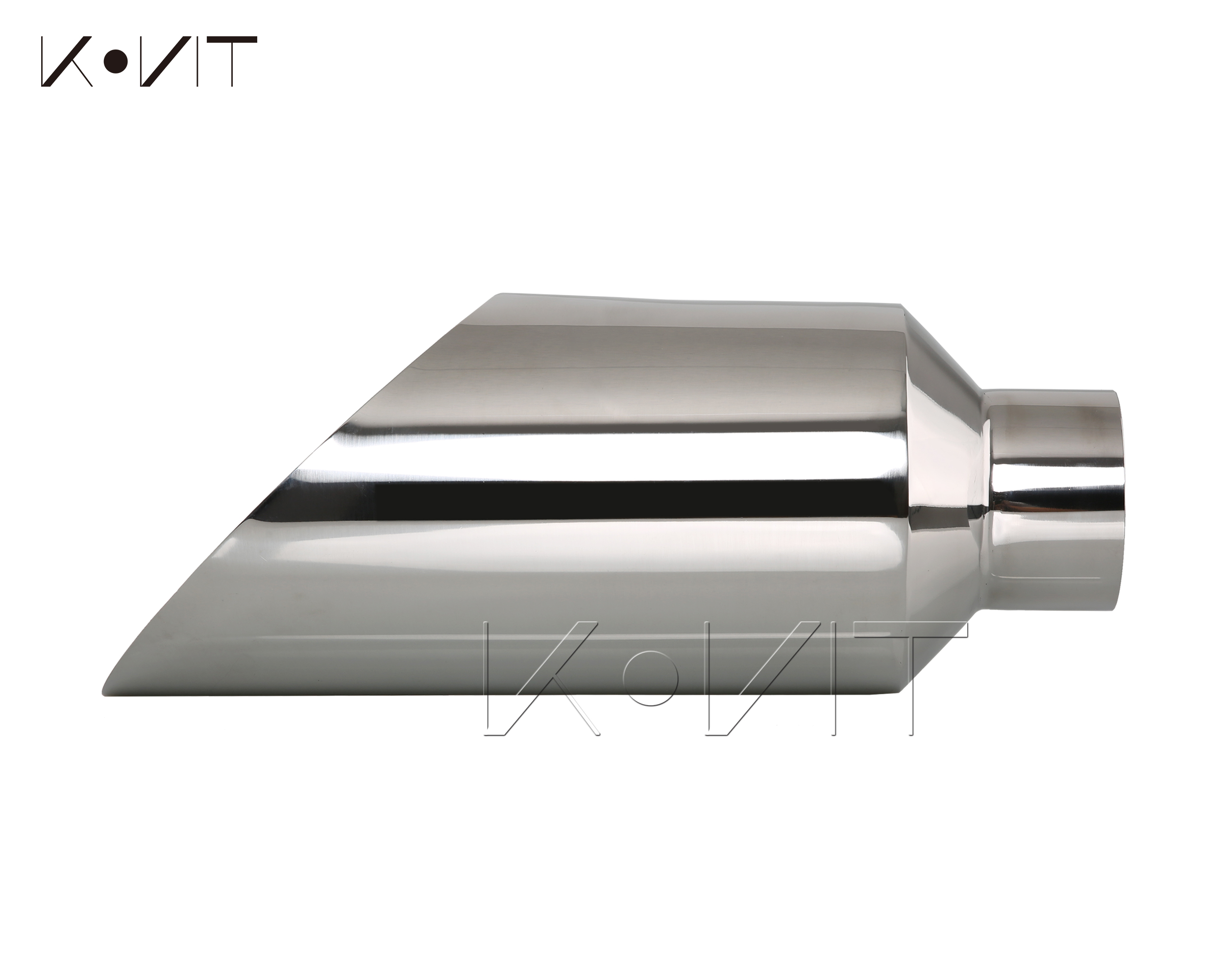 kovit 4 inlet 7 inch outlet 18 long slant angle cut diesel exhaust tip stack pipe walmart com