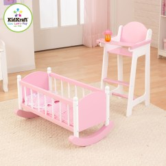 Baby Chair Swing Pink High Stokke Reviews Doll Furniture Sets | Home Decor